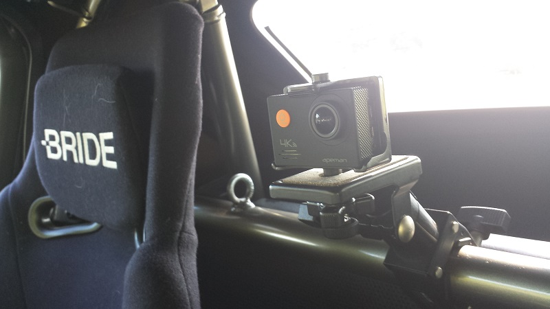 apemanA79車載動画撮影